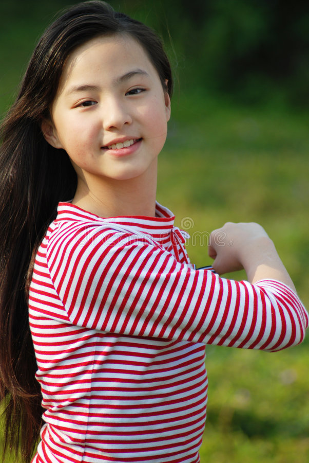 Yangxi um girlãFrom bonito China imagem de stock royalty free