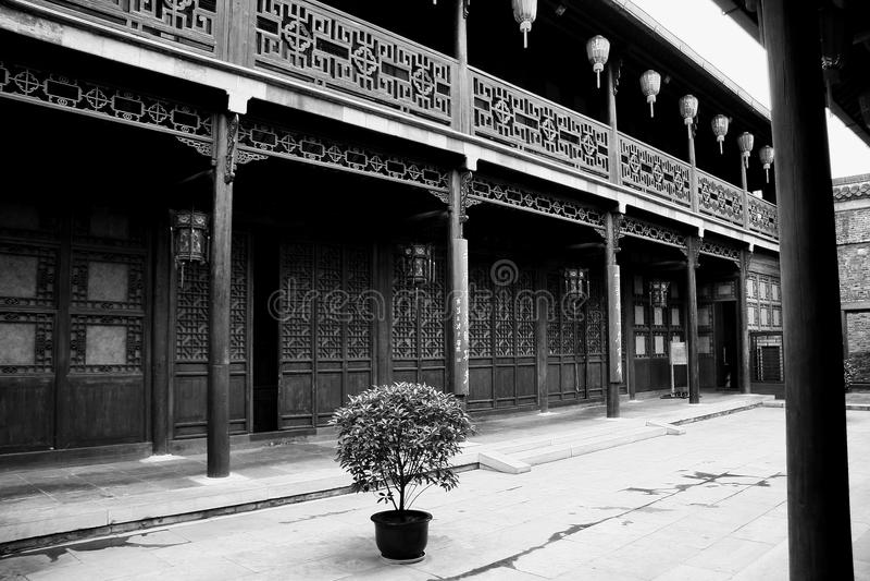 yangzhou jiangau, porslin royaltyfri bild
