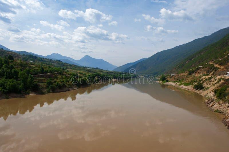 yangzi ποταμών της Κίνας στοκ εικόνες
