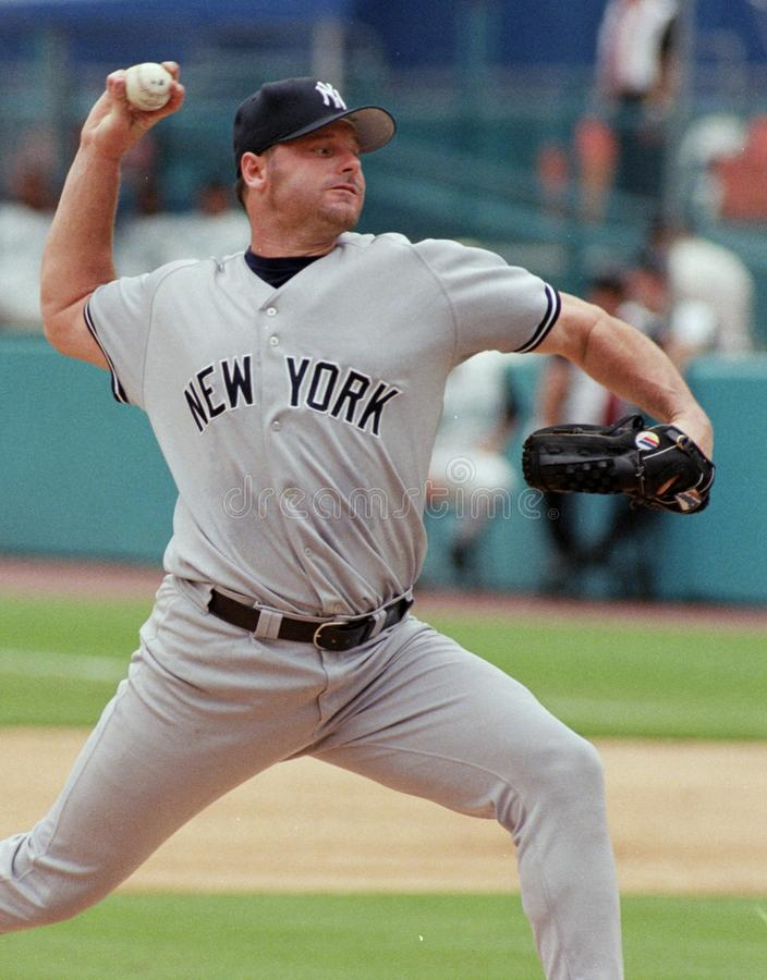 Yankee Roger Clemens de New York photographie stock libre de droits