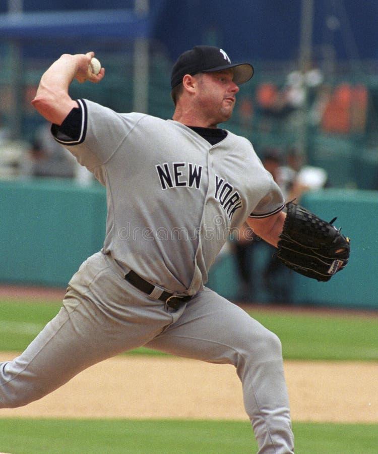 Yankee Roger Clemens de New York image stock