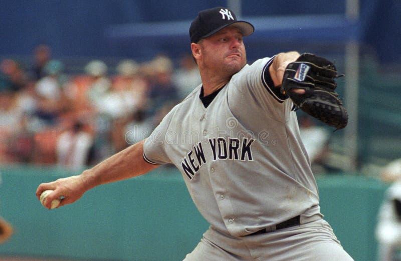 Yankee Roger Clemens de New York photos stock