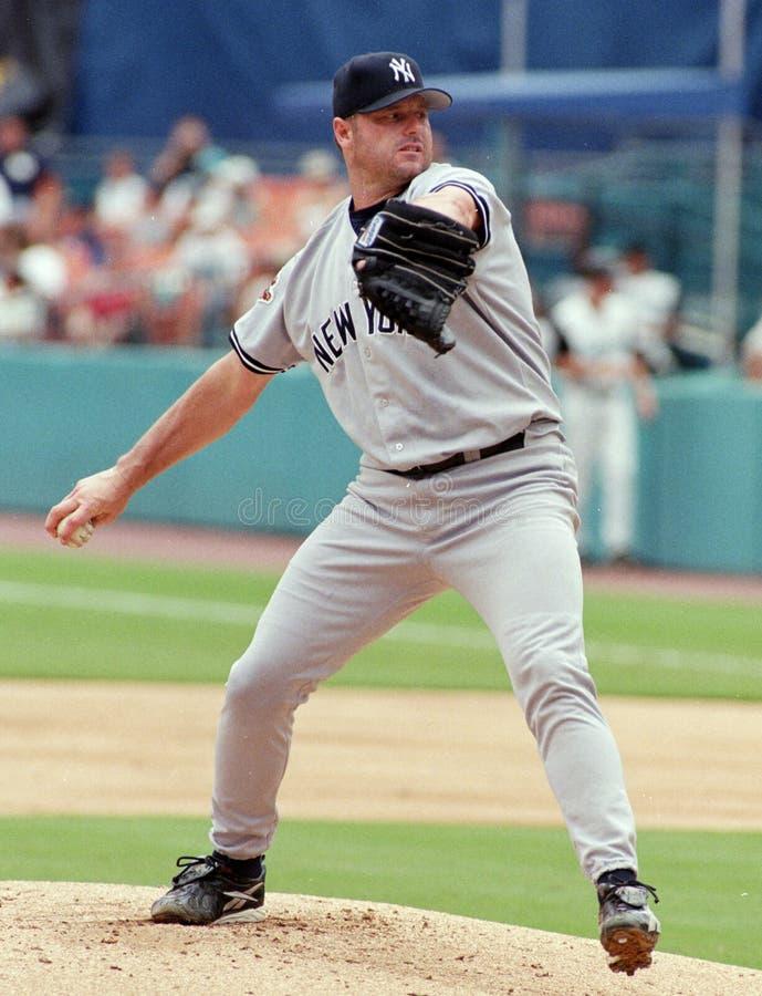 Yankee Roger Clemens de New York photo libre de droits
