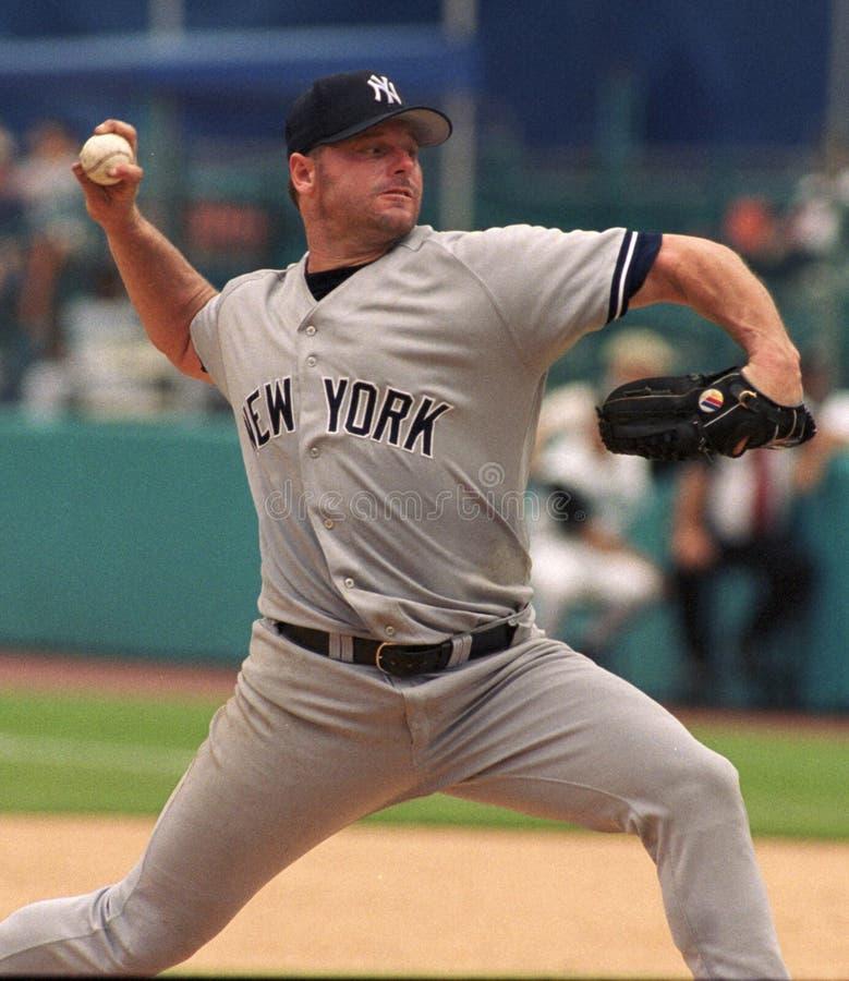 Yankee Roger Clemens de New York image libre de droits
