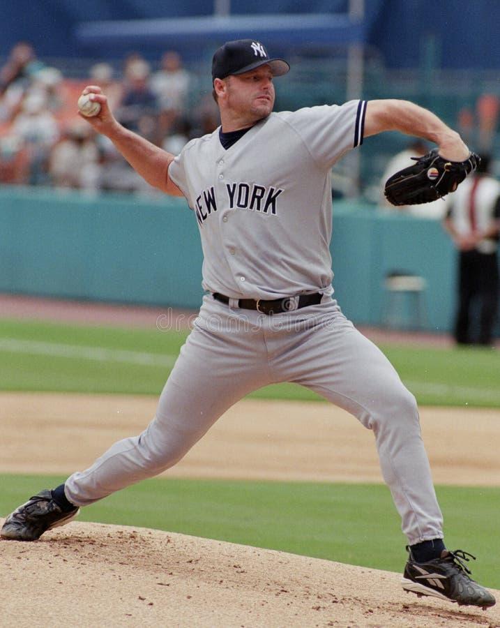 Yankee Roger Clemens de New York images libres de droits