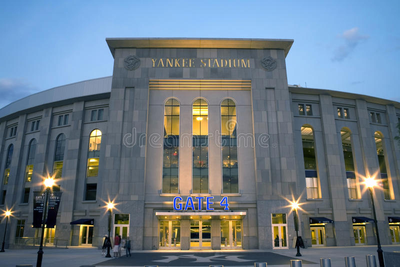 Yankee Stadium. Photo of the New Yankee Stadium. Photographed in the county of the Bronx, New York, USA. Image taken April, 2009 stock photography