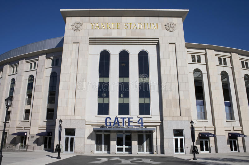 Download Yankee Stadium imagem editorial. Imagem de bronx, baseball - 16851100