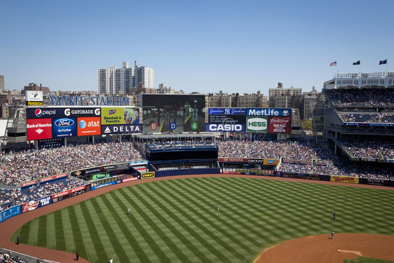 Yankee Stadium foto de stock royalty free