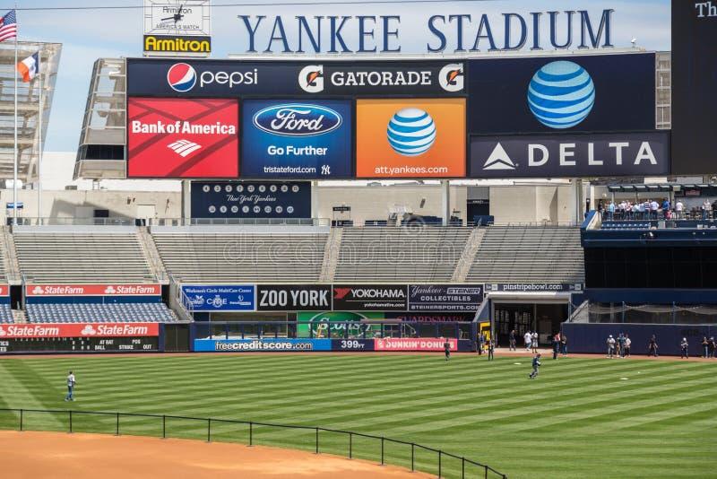 Yankee Stadium royalty-vrije stock afbeeldingen