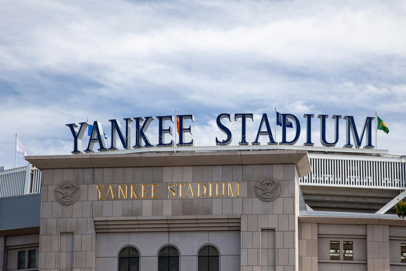 Yankee Stadium obraz stock