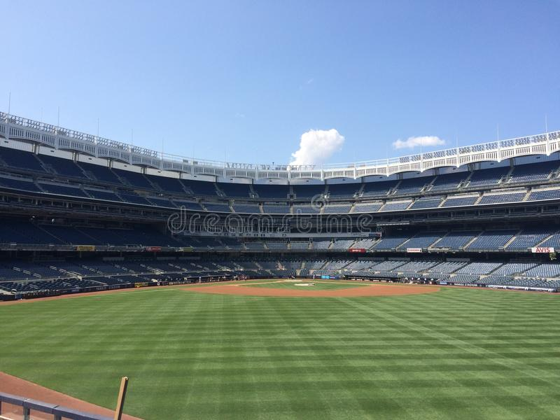 Yankee Stadium, New York. Yankee Stadium - Bronx - New York royalty free stock image