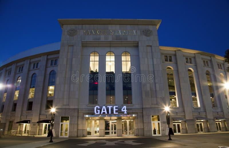 Yankee Stadium in the Bronx New York stock photography