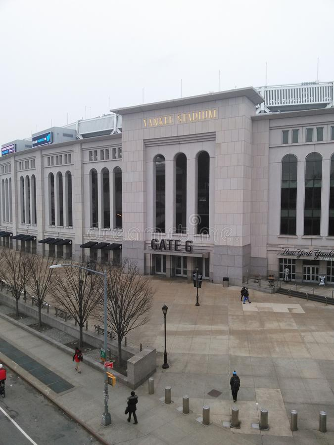 Yankee Stadium imagem de stock