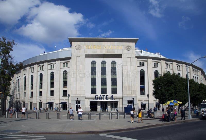 Yankee Stadium i länet av Bronxen New York royaltyfri foto