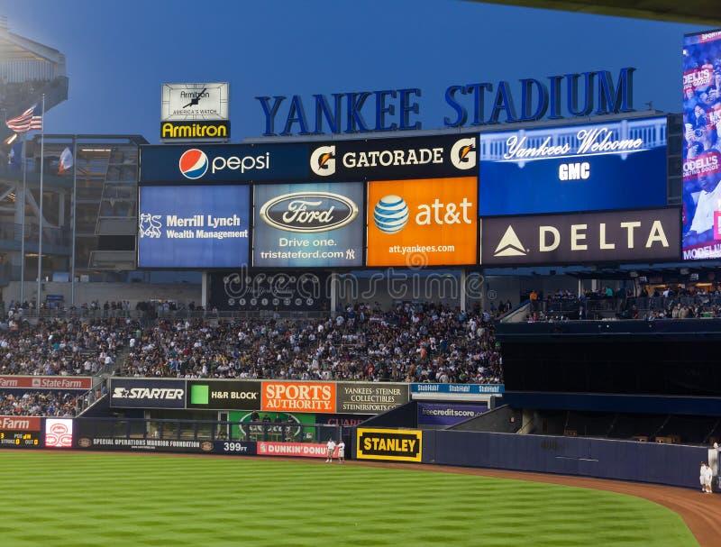 yankee york för stadion för baseballstad ny arkivbilder