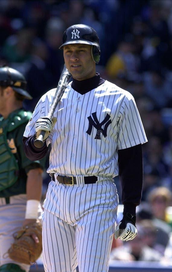 Yankees de Derek Jeter New York photo libre de droits