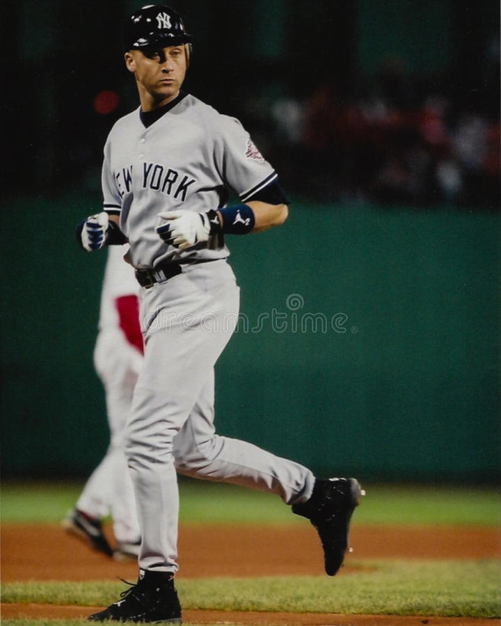 Yankees de Derek Jeter New York photos libres de droits