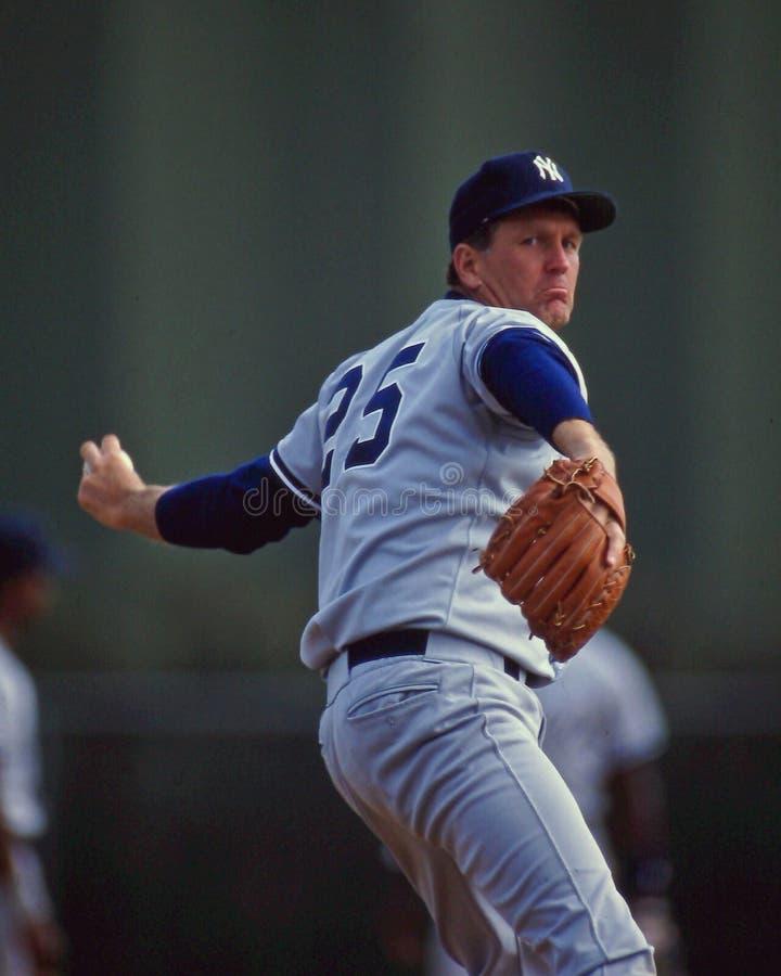 Yankees de Tommy John New York photo stock