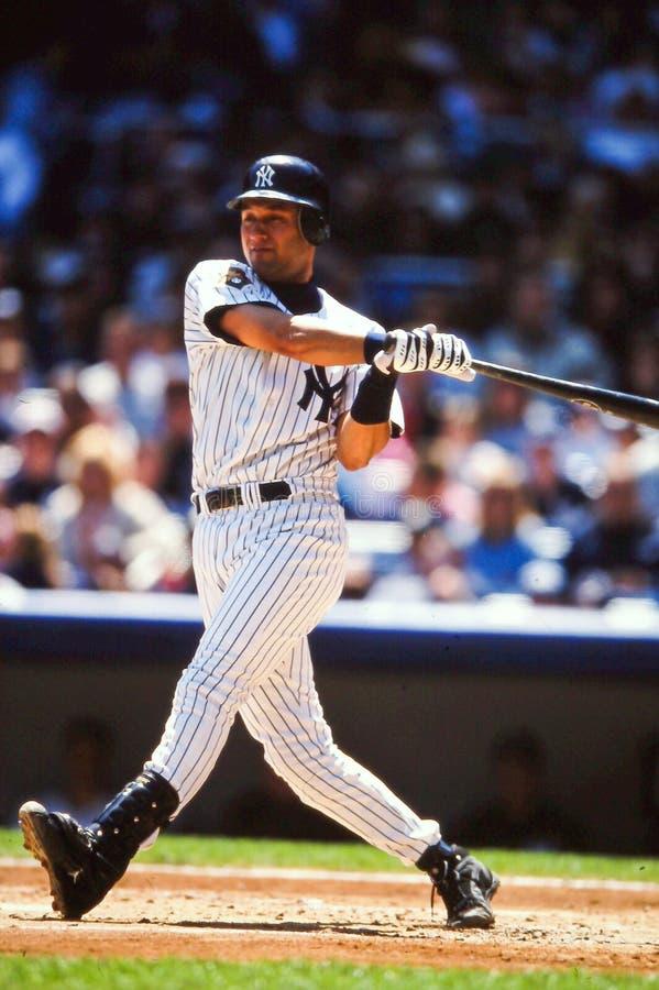 Yankees Derek-Jeter New York lizenzfreies stockbild