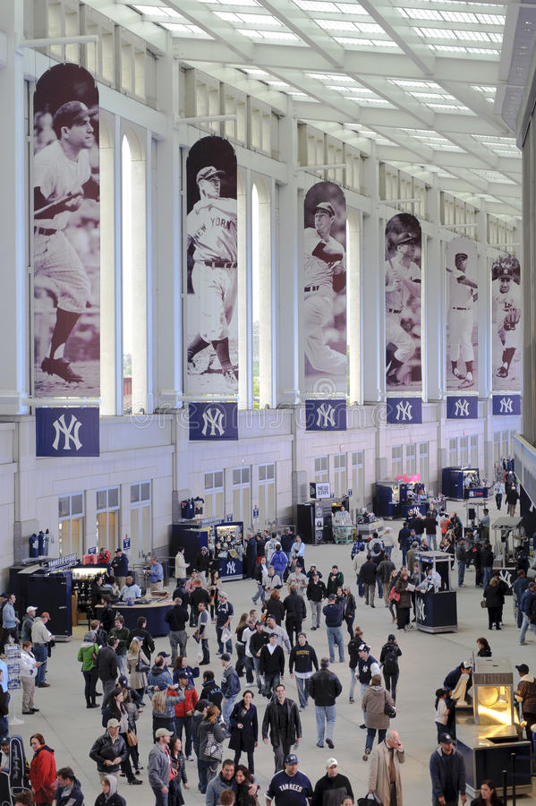 Yankees Stadium Promenade Editorial Stock Photo