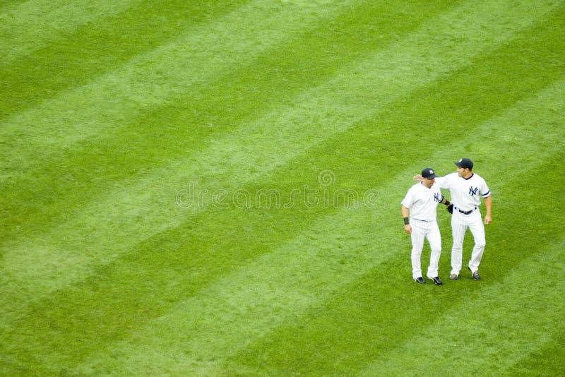 Yankees vs Toronto Blue Jays royalty free stock photos