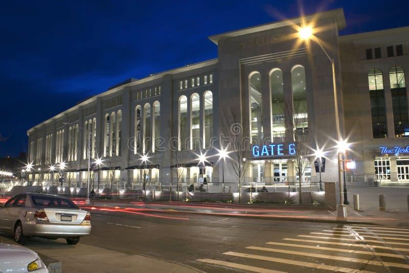 Yankeestadion royaltyfri foto