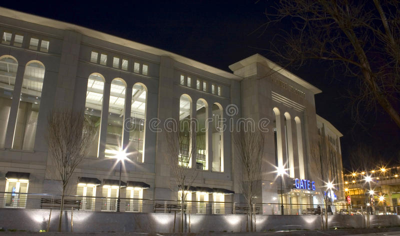 Yankeestadion royaltyfria foton