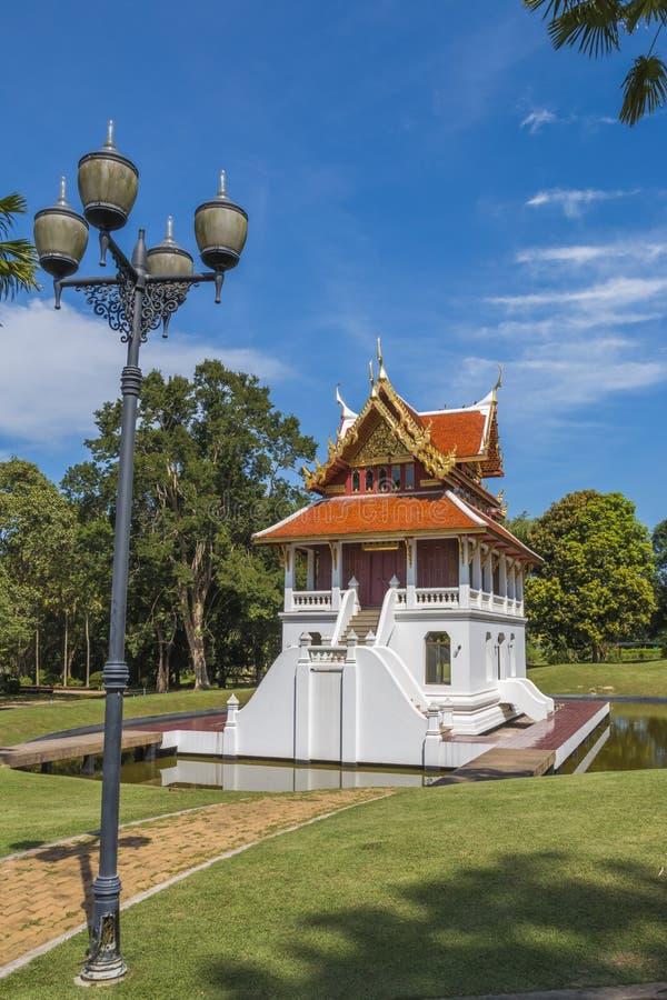 Yansangwararam di Wat, Pattaya, Tailandia fotografie stock libere da diritti