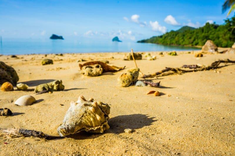 Yaonoi海滩,普吉岛,泰国 库存图片