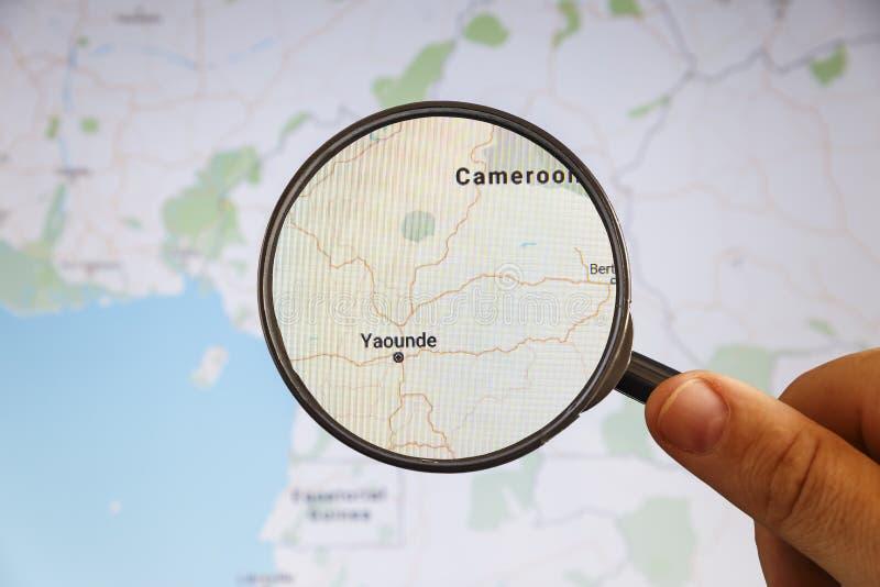 Yaounde, el Camer?n correspondencia pol?tica fotos de archivo