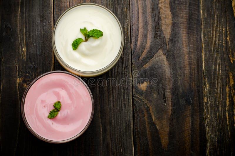 yaourt images stock