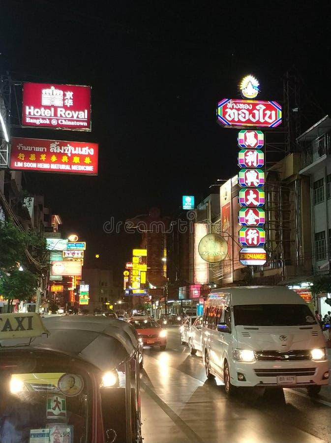 Yaowarat immagine stock