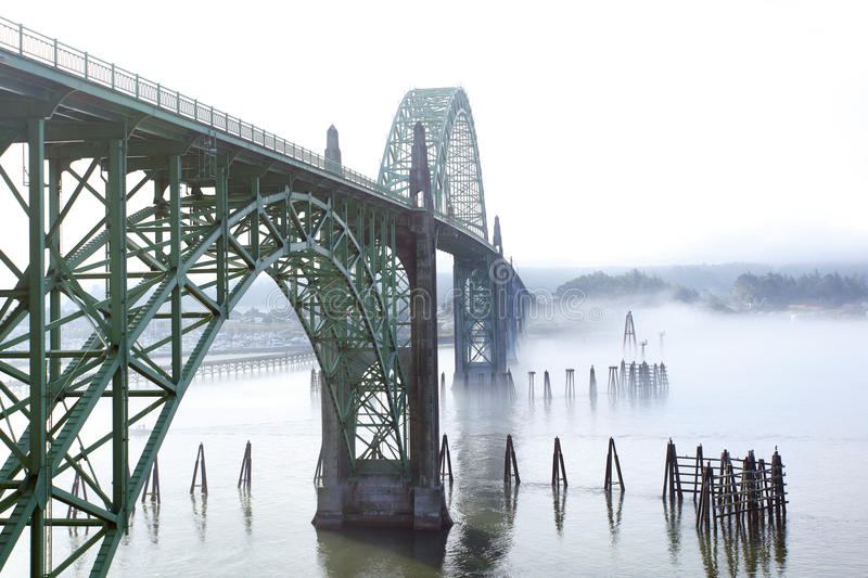 Download Yaquina Bay Bridge stock image. Image of oregon, arch - 20944097