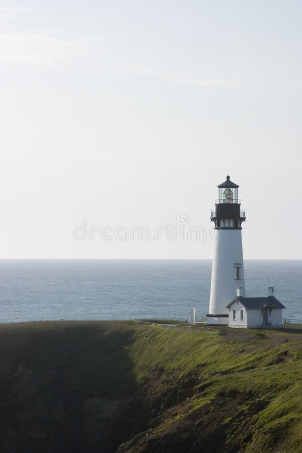 Free Yaquina Head Light House Royalty Free Stock Image - 5841936