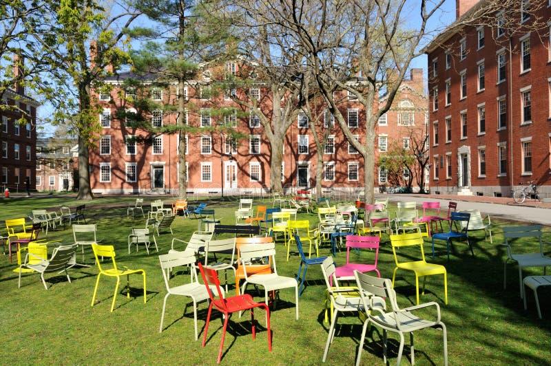 Yard de Harvard photos libres de droits