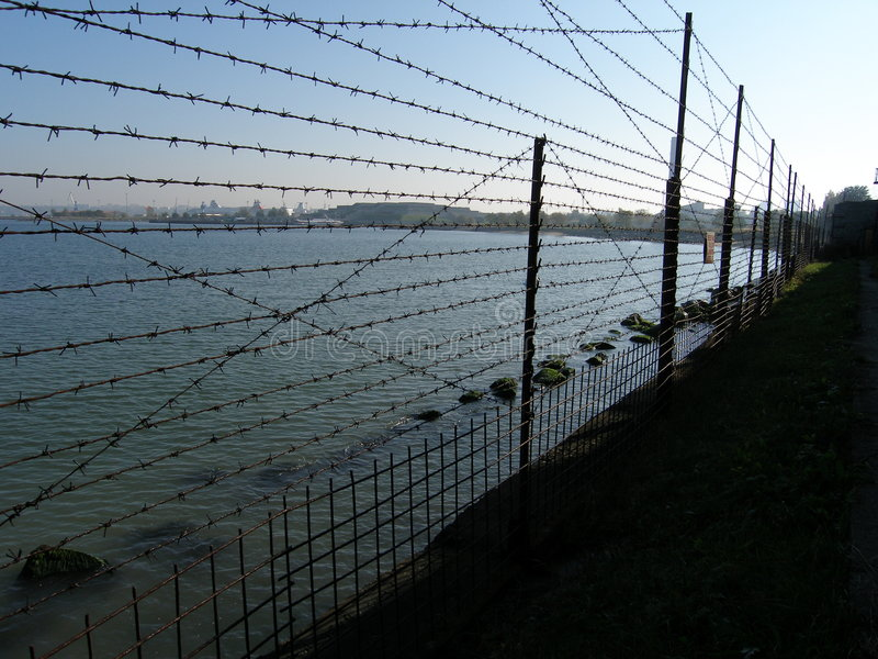 Yard de prison photos stock
