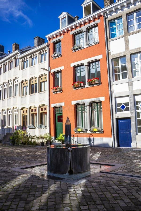 Yard de Saint-Antoine ? Li?ge, Belgique images libres de droits