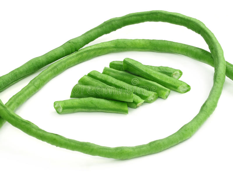 Yard long bean stock images