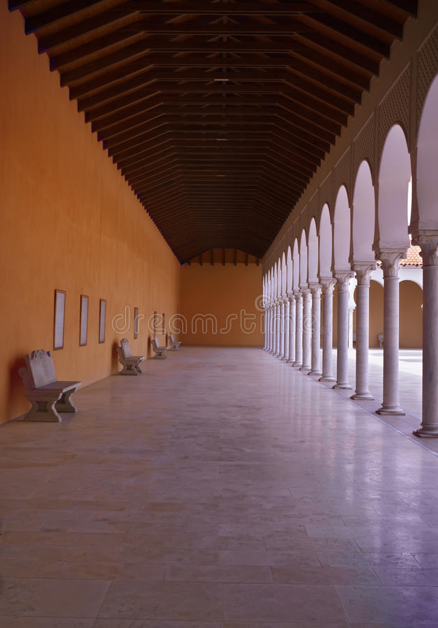 Yard of the Ralli museum royalty free stock photography