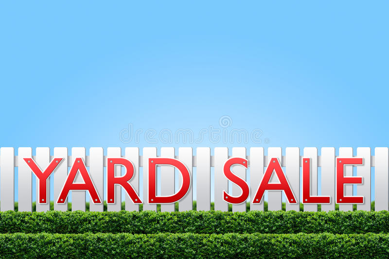 Download Yard Sale sign stock photo. Image of sale, blue, green - 16155988