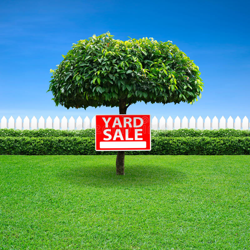 Yard Sale Sign Royalty Free Stock Image