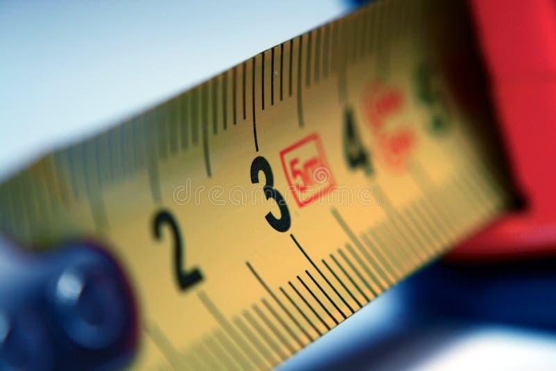 Yard stick. Basic tool - yard stick (centimetre) using metric system royalty free stock photography