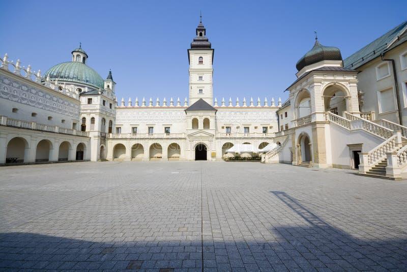 Yarda del castillo foto de archivo