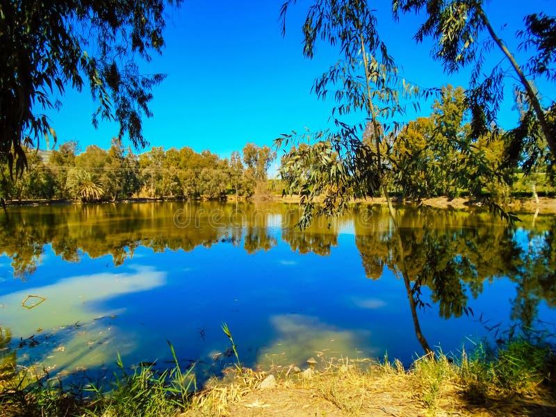 Yardenit bei Jordan River in Israel lizenzfreie stockbilder