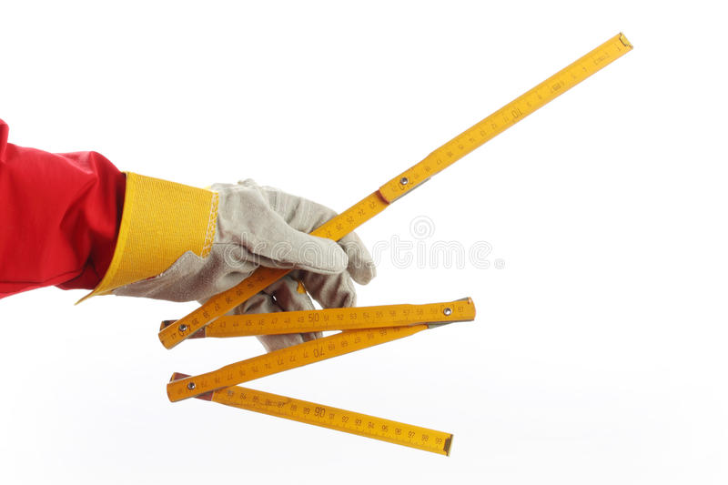 Download Yardstick stock photo. Image of folding, wood, scale - 16538024