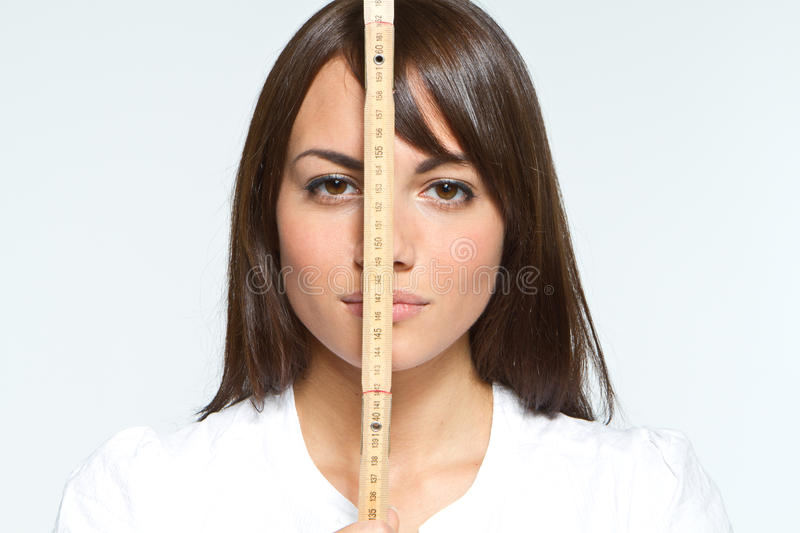 Download Yardstick stock image. Image of small, image, size, female - 16662409