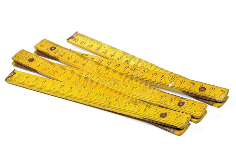 yardstick arkivbild