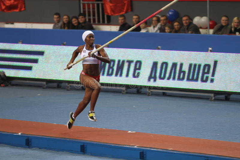 Download Yarisley Silva - Cuban Pole Vaulter Editorial Stock Image - Image: 23472599