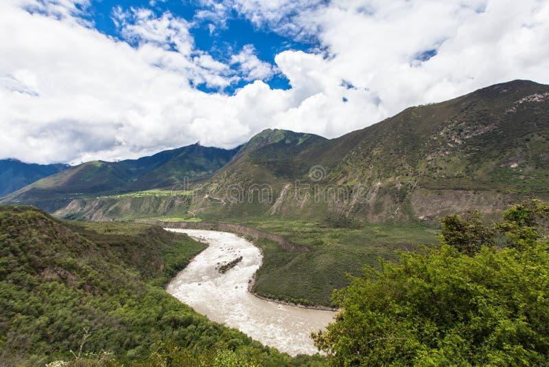 Yarlung Zangbo Grand Canyon foto de stock royalty free