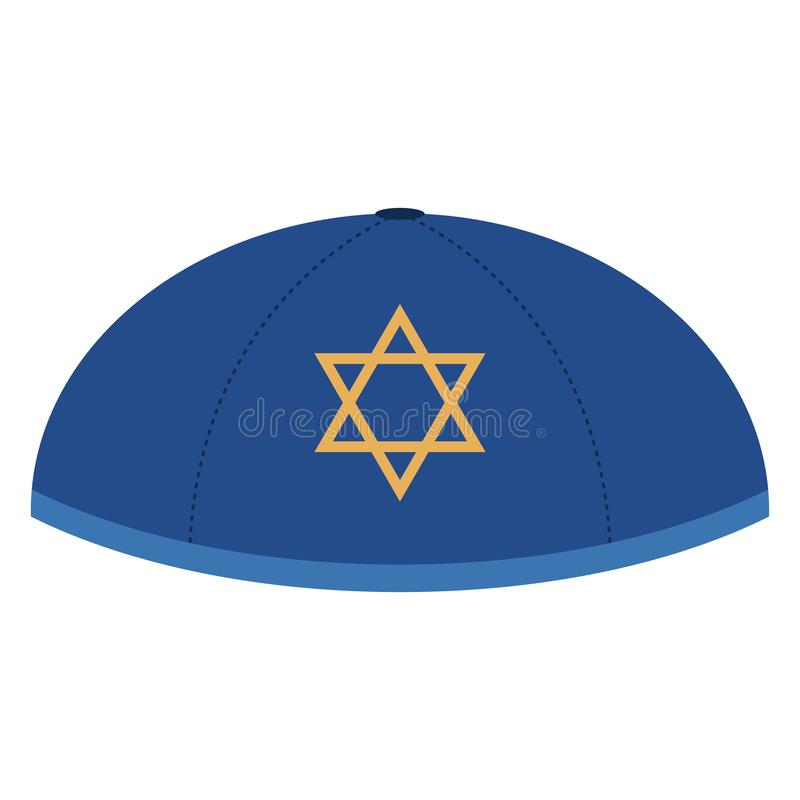 yarmulke illustration libre de droits
